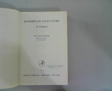 Quantum Chemistry: An Introduction - W. Kauzmann