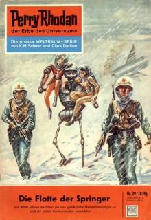 Perry Rhodan 29: Die Flotte der Springer (Perry Rhodan - Heftromane, #29) - Kurt Mahr