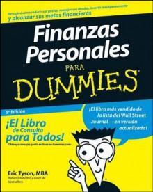 Finanzas Personales Para Dummies - Eric Tyson, Eric Tyson