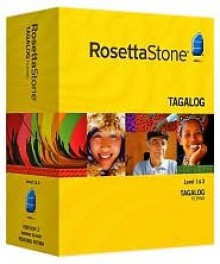 Rosetta Stone Version 3 Filipino (Tagalog) Level 1 & 2 with Audio Companion - Rosetta Stone