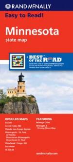 Rand McNally Easy To Read: Minnesota State Map - Rand McNally