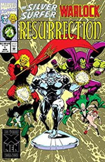 Silver Surfer/Warlock: Resurrection (1993) #1 (of 4) - Jim Starlin,Jim Starlin