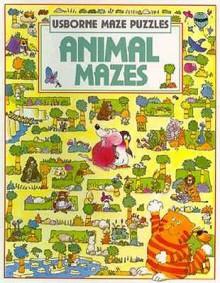 Animal Mazes (Usborne Maze Puzzles) - Kim Blundell