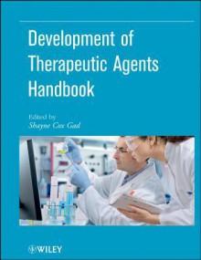 Development of Therapeutic Agents Handbook - Shayne Cox Gad