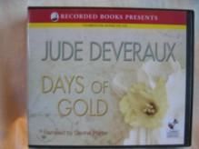 Days of Gold by Jude Deveraux Unabridged CD Audiobook (The Edilean Series, Book 2) - Jude Deveraux, Davina Porter, Davina Porter