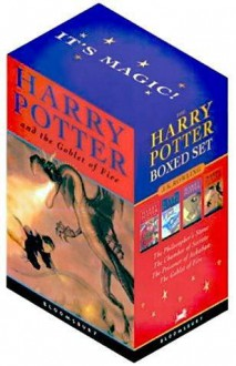 Harry Potter Boxed Set (Harry Potter, #1-4) - J.K. Rowling