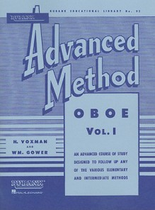 Rubank Advanced Method - Oboe Vol. 1 - William Gower
