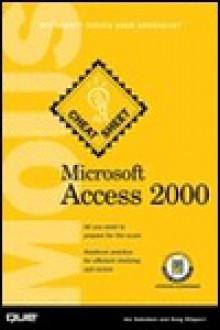 Microsoft Access 2000: MOUS Cheat Sheet - Joseph W. Habraken, Doug Klippert