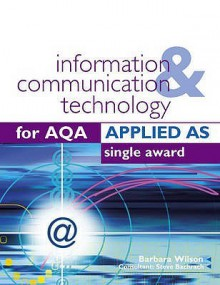 Ict For Aqa Applied As Single Award - Barbara Wilson