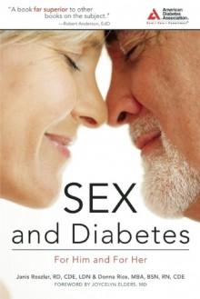 Sex & Diabetes - Janis Roszler, Donna Rice, Joycelyn Elders