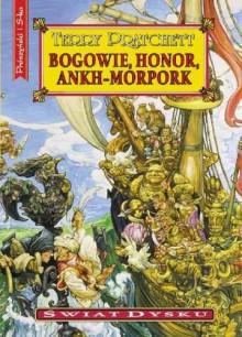 Bogowie, honor, Ankh-Morpork - Pratchett Terry