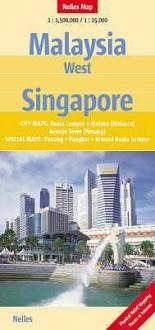 West Malaysia & Singapore Map By Nelles (Nelles Maps) - Nelles Verlag