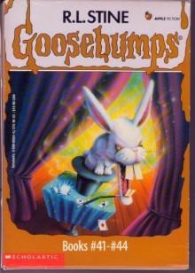 Goosebumps Boxed Set, Books 41 - 44 - R.L. Stine