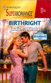 Birthright - Judith Arnold
