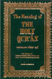 The Holy Quran (English-Yusuf-Ali) - Anonymous,Abdulmomen jameli