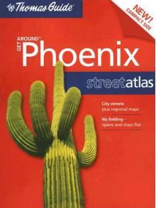 Phoenix, Arizona Get Around Atlas - Rand McNally, Thomas Guide