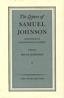 Letters of Samuel Johnson, LLD - Samuel Johnson