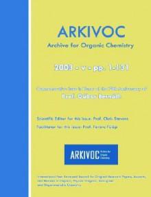 2003 (V) Commemorative For Prof. Gabor Bernath - Chris Stevens