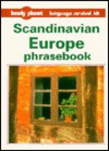Lonely Planet Scandinavian Europe Phrasebook - Ingibjorg Arnadottir