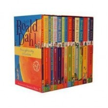 Roald Dahl Complete Collection Children 15 Books Box Set Pack (Fantastic Mr Fox, The Witches, The Twits, James Giant Peach, Charlie Chocolate Factory, The BFG, Magic Finger, The Giraffe , Esio Trot, Boy Tales, Matilda ...) (Roald Dahl Complete Collection) -