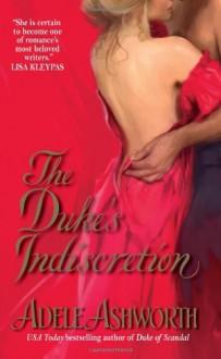 The Duke's Indiscretion - Adele Ashworth