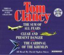 Tom Clancy Three #1 Bestsellers in One Collection: Includes Three Jack Ryan Audiobooks - David Ogden Stiers, Tom Clancy