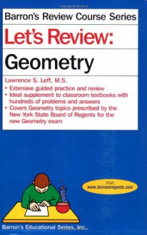 Let's Review: Geometry - Lawrence S. Leff