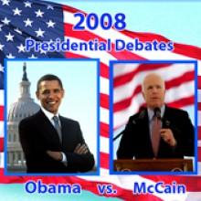 2008 Third Presidential Debate: Barack Obama and John McCain 10/15/08 - Barack Obama, John McCain