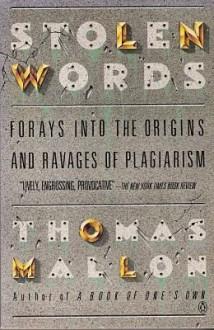 Stolen Words - Thomas Mallon