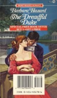 The Dreadful Duke - Barbara Hazard