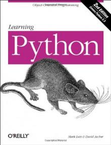 Learning Python - Mark Lutz,David Ascher