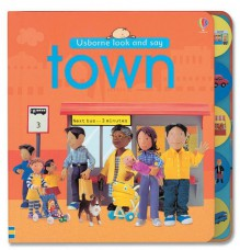 Town (Look and Say Board Books) -