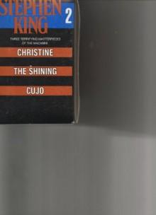 Stephen King 2 Boxed Set: Christine, The Shining, Cujo - Stephen King
