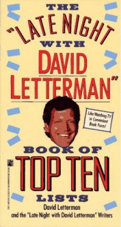 The Late Night with David Letterman Book of Top Ten Lists - David Letterman