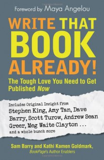 Write That Book Already!: The Tough Love You Need to Get Published Now - Sam Barry,Kathi Kamen Goldmark