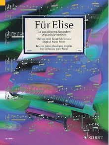 Fur Elise The 100 Most Beautiful Classical Original Piano Pieces (Pianissimo) - Hans-Gunter Heumann