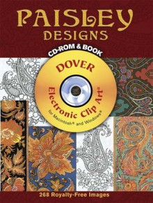 Paisley Designs CD-ROM and Book - K. Prakash