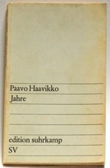 Jahre - Paavo Haavikko