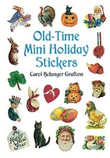 Old-Time Mini Holiday Stickers - Carol Belanger-Grafton