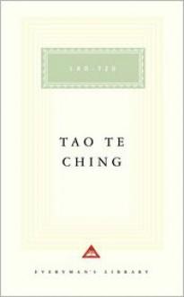 Tao Te Ching (Everyman's Library) - Laozi, D.C. Lau, Sarah Allan
