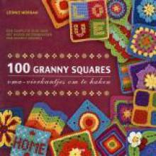 100 Granny Squares: oma-vierkantjes om te haken - Leonie Morgan, Angelique den Brok