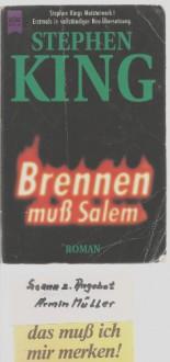 Brennen muss Salem - Ilse Winger, Christoph Wagner, Stephen King