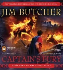 Captain's Fury: Book Four of the Codex Alera - Jim Butcher