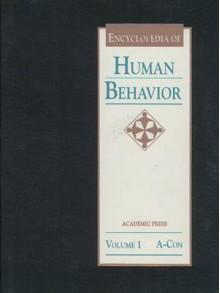 Encyclopedia of Human Behavior, Three-Volume Set: 1-3 - V.S. Ramachandran