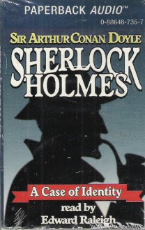 Sherlock Holmes a Case of Identity Large Print: Elementary Stories Masterpiece Collection - Arthur Conan Doyle