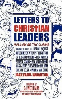 Letters to Christian Leaders - Jake Farr-Wharton, C.J. Werleman