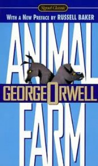 Animal Farm 50th (fıfthy) edition Text Only - George Orwell