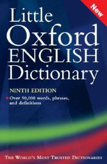 Little Oxford English Dictionary - Sara Hawker