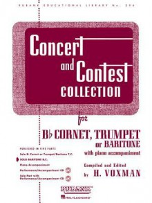 Concert and Contest Collection: Baritone - H. Voxman