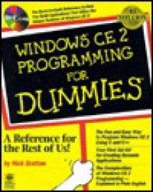 Windows CE 2 Programming for Dummies [With Contains Source Code, Ce Install, Expense Tracker] - Nick Grattan